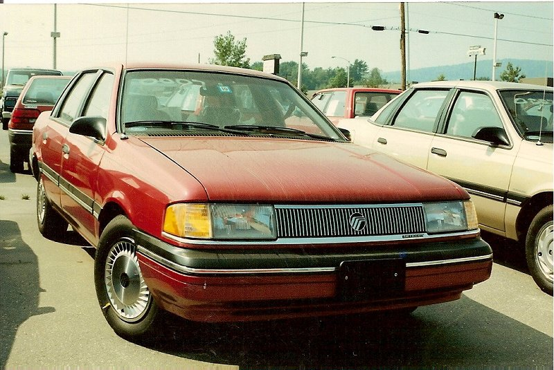 Mercury Topaz red #1