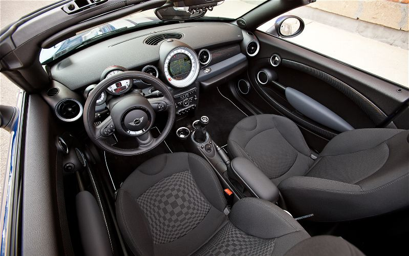 MINI Cooper Roadster interior #4