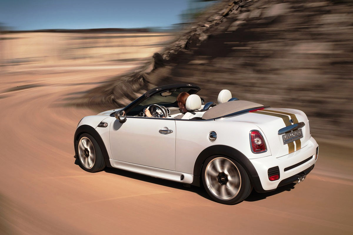 MINI Cooper Roadster white #2