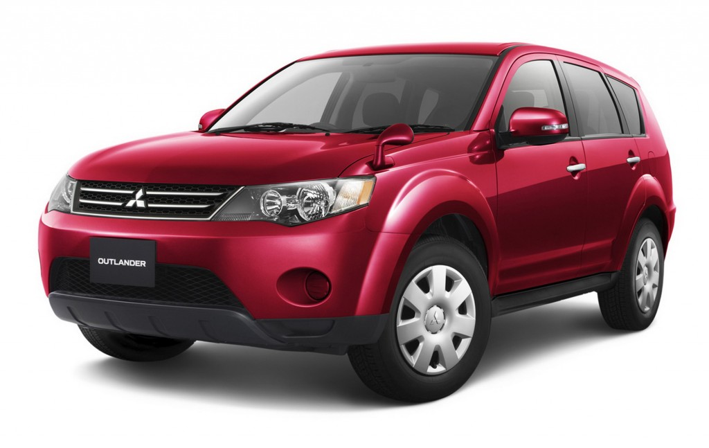 Mitsubishi Outlander red #2
