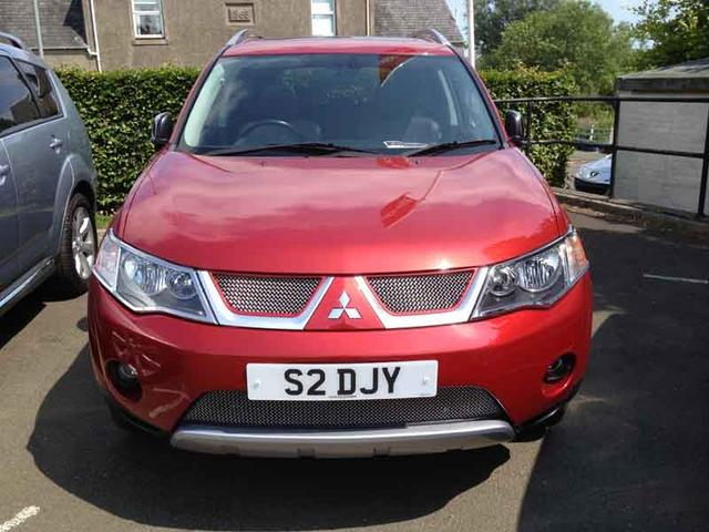 Mitsubishi Outlander red #4