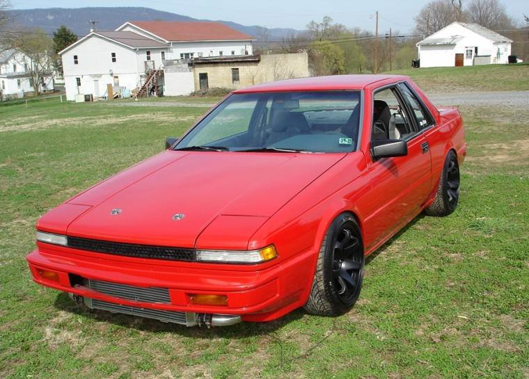 Nissan 200SX red #4