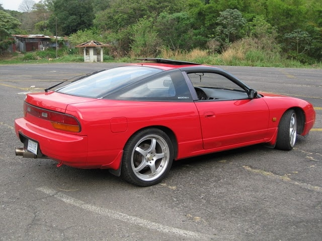 Nissan 200SX red #1