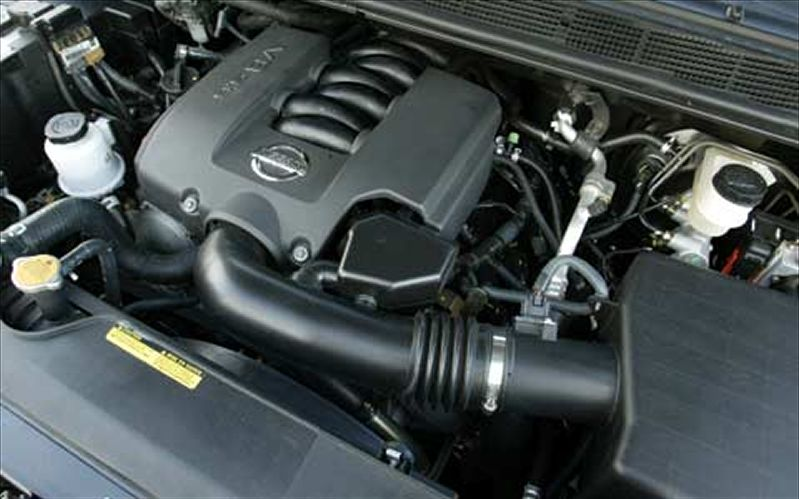 Nissan Armada engine #1