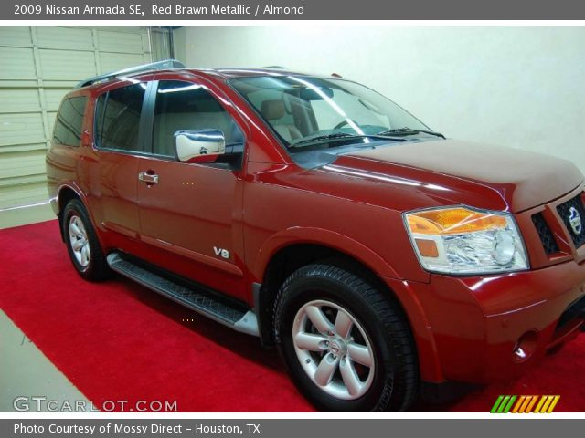 Nissan Armada red #4