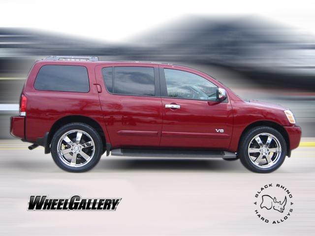 Nissan Armada wheels #2