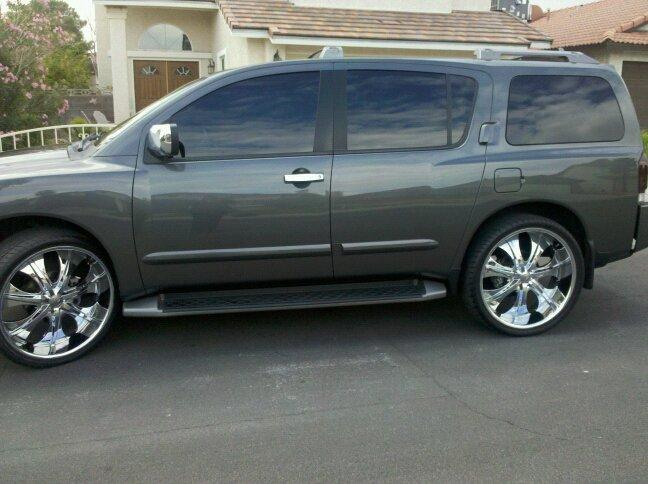 Nissan Armada wheels #3