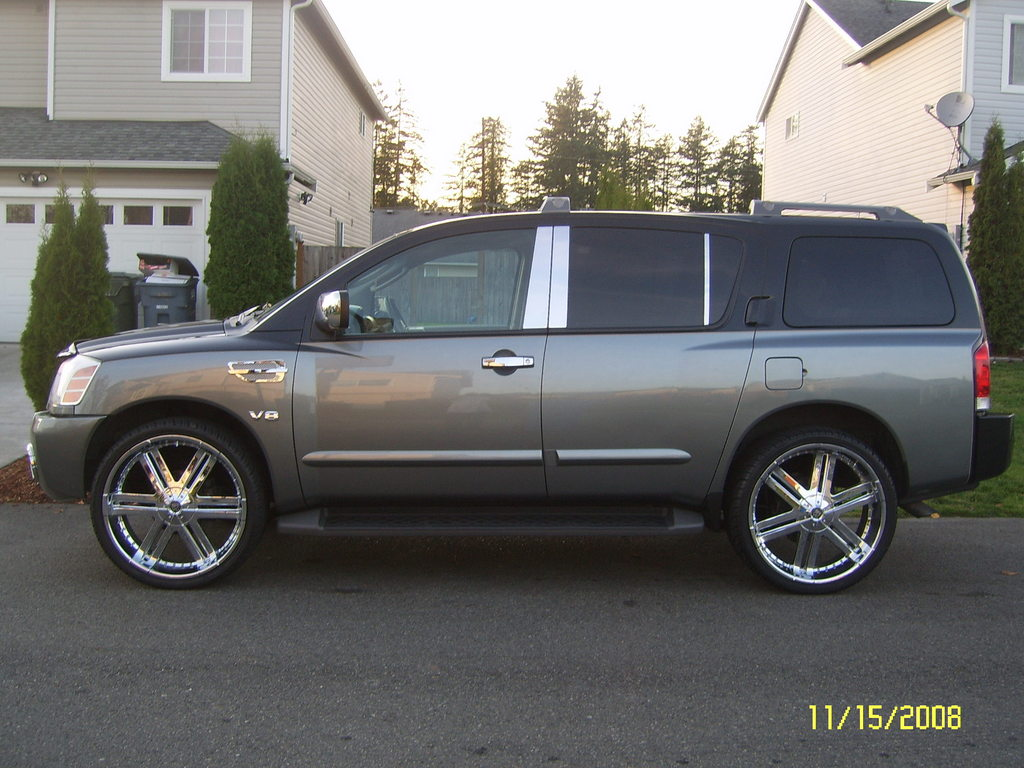 Nissan Armada wheels #1