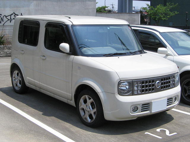 Nissan Cube white #3