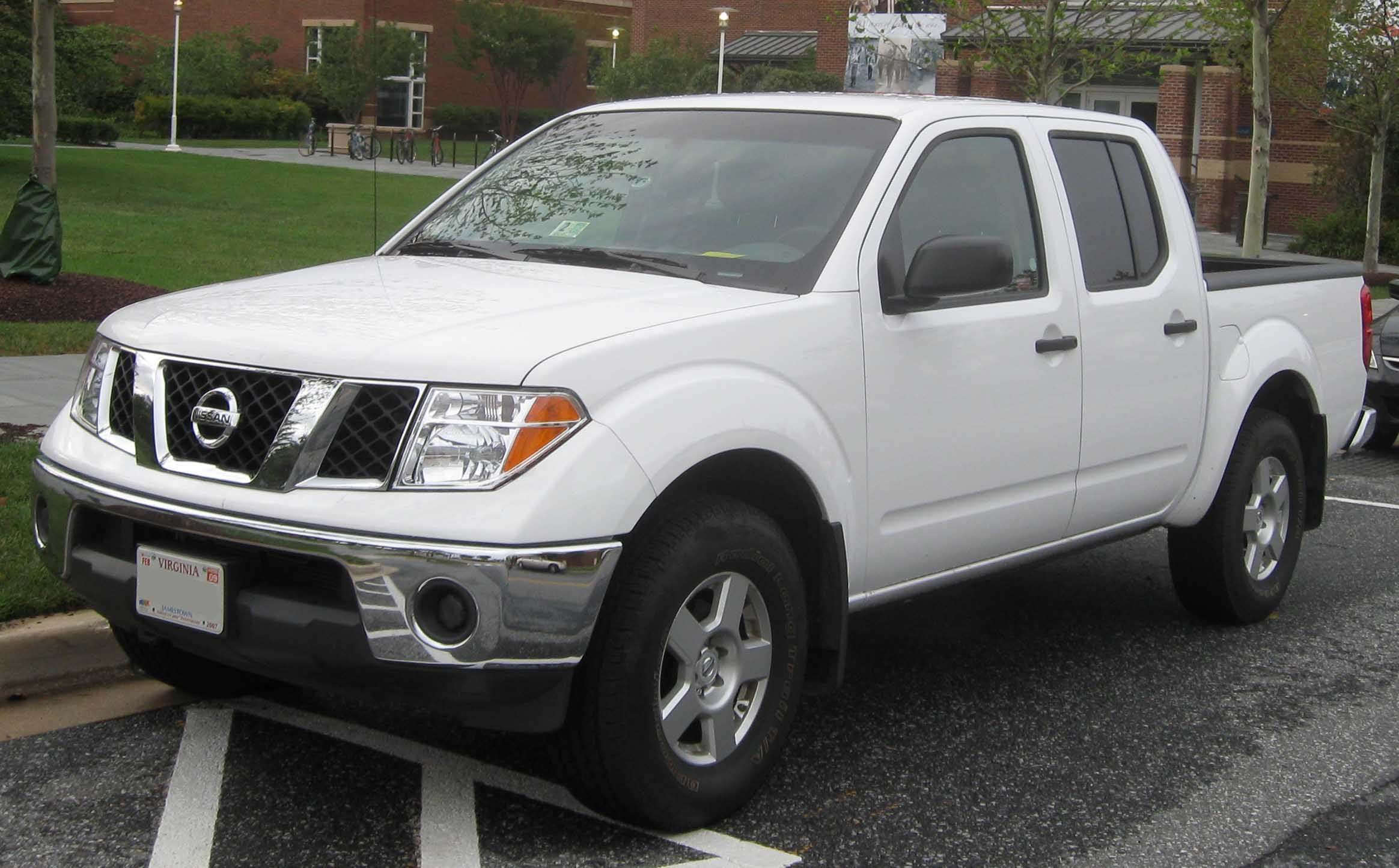 Nissan Frontier white #3