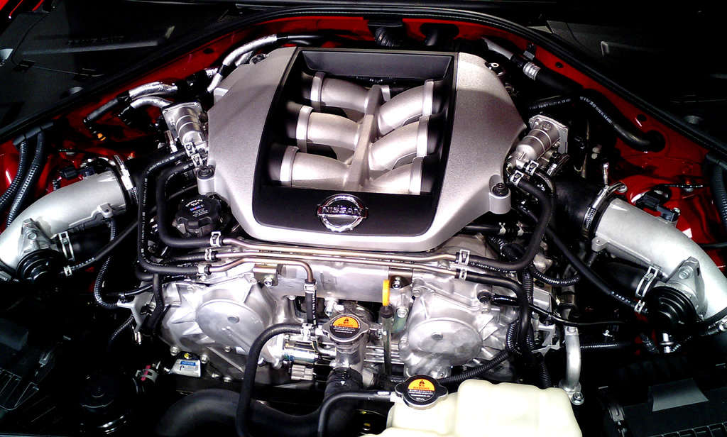Nissan GT-R engine #2