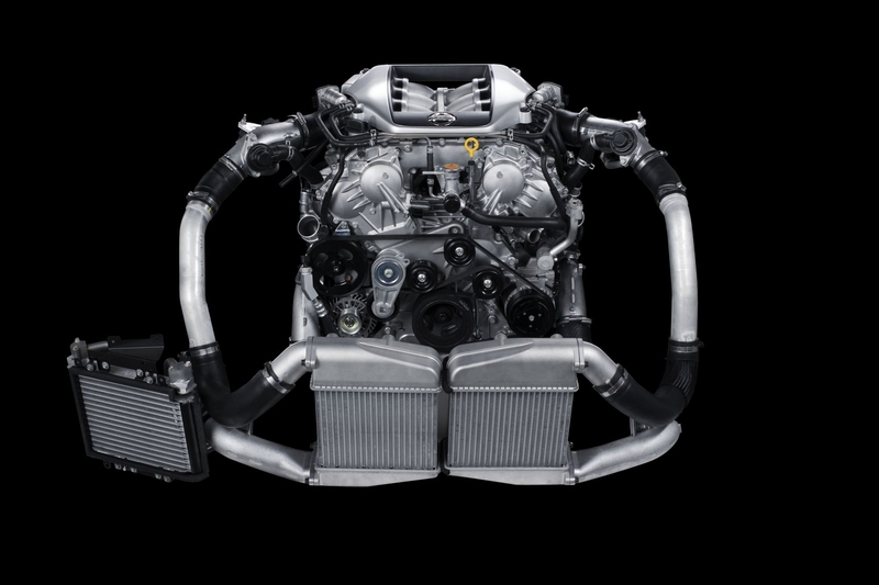 Nissan GT-R engine #3