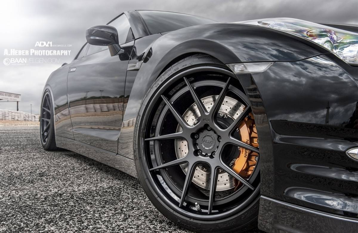 Nissan GT-R wheels #4