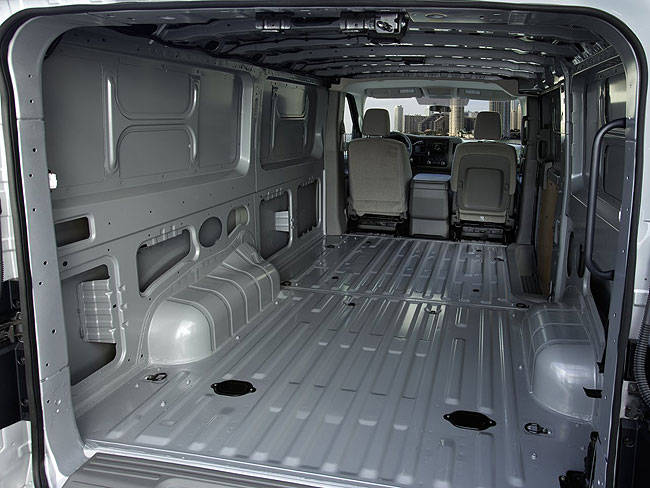 Nissan NV interior #2