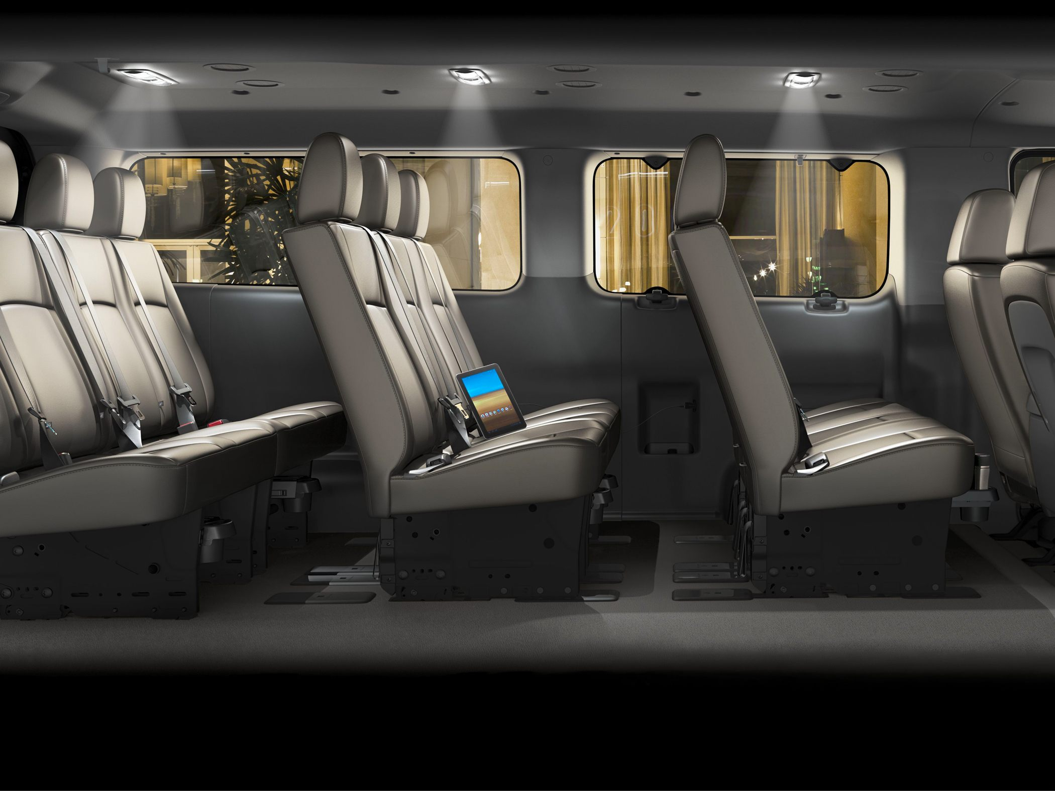Nissan NV interior #4