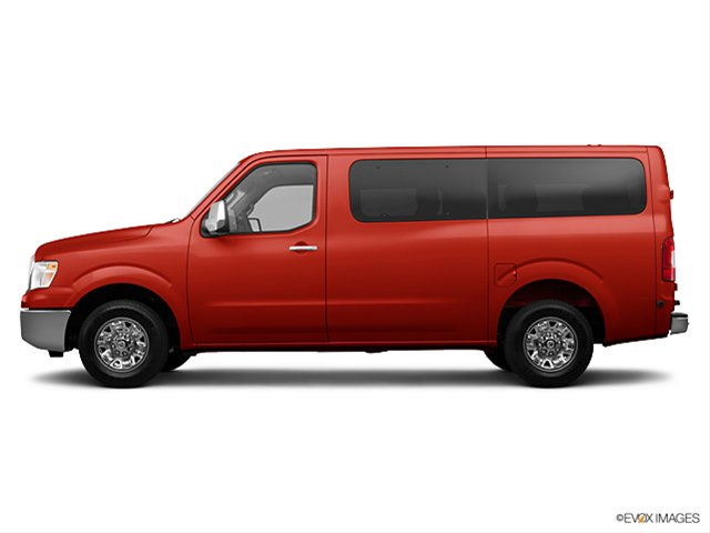 Nissan NV Passenger red #3