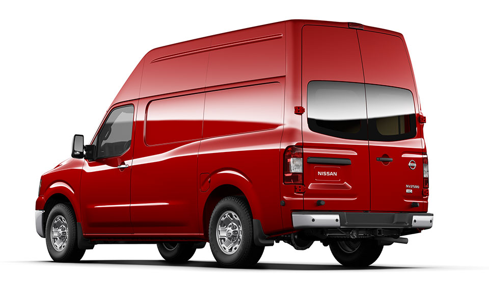 Nissan NV red #2