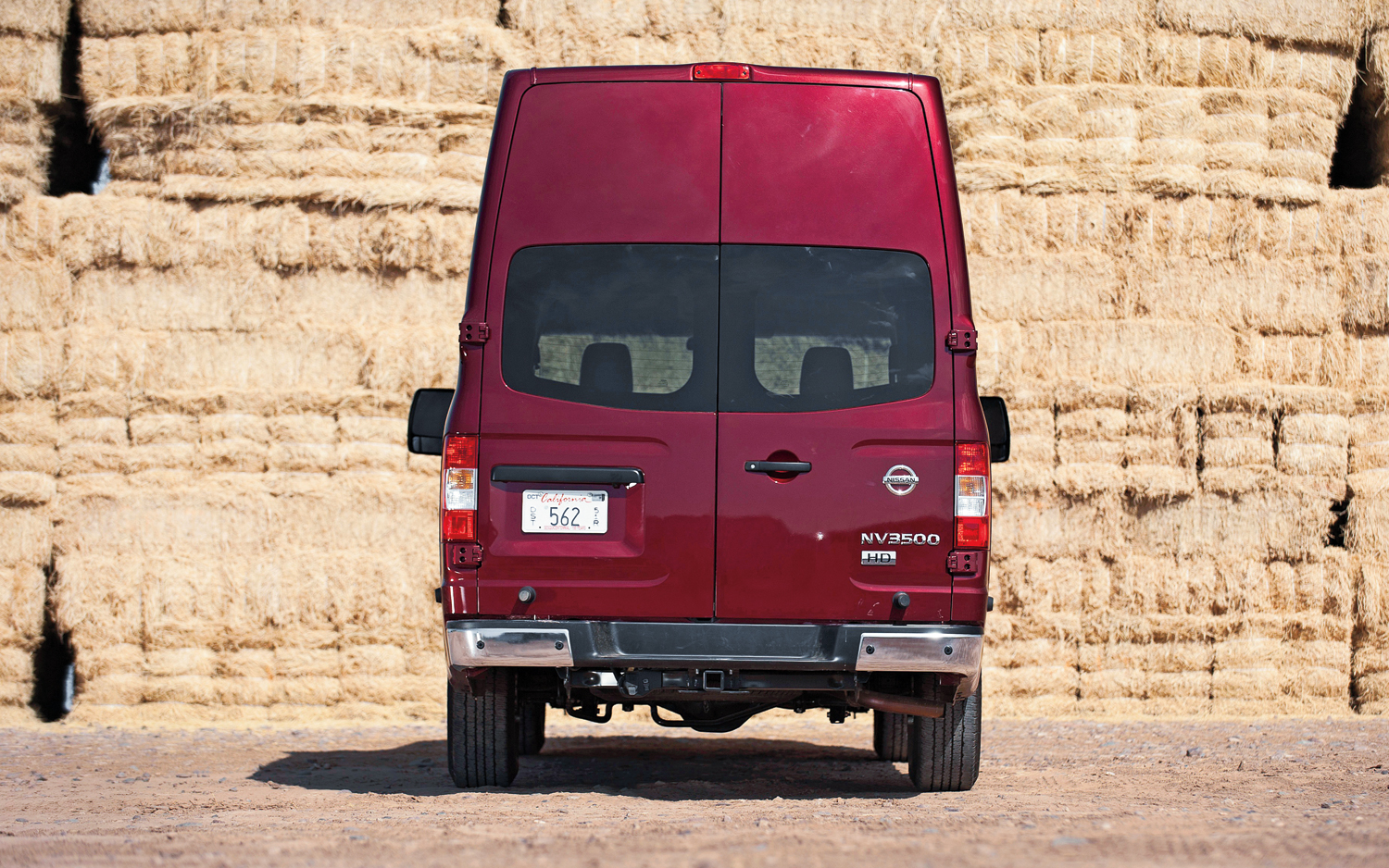 Nissan NV red #3