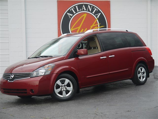 Nissan Quest red #1