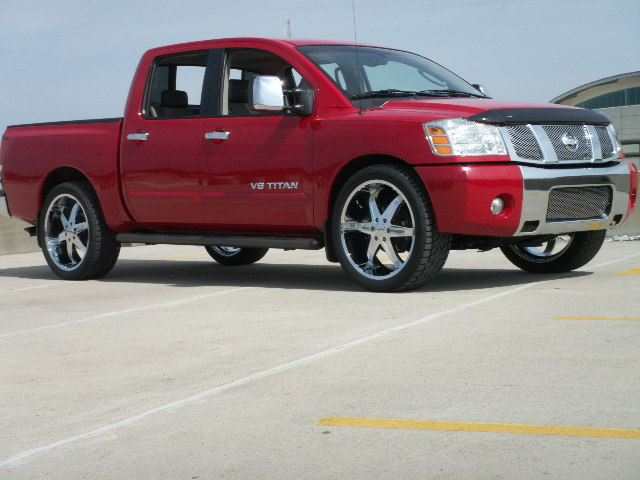 Nissan Titan red #2