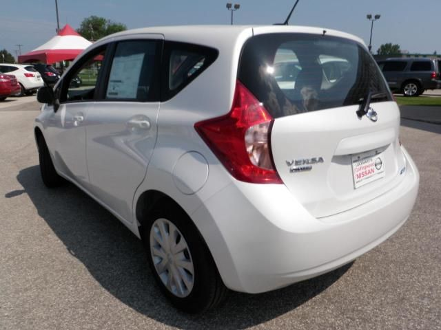 Nissan Versa Note black #3
