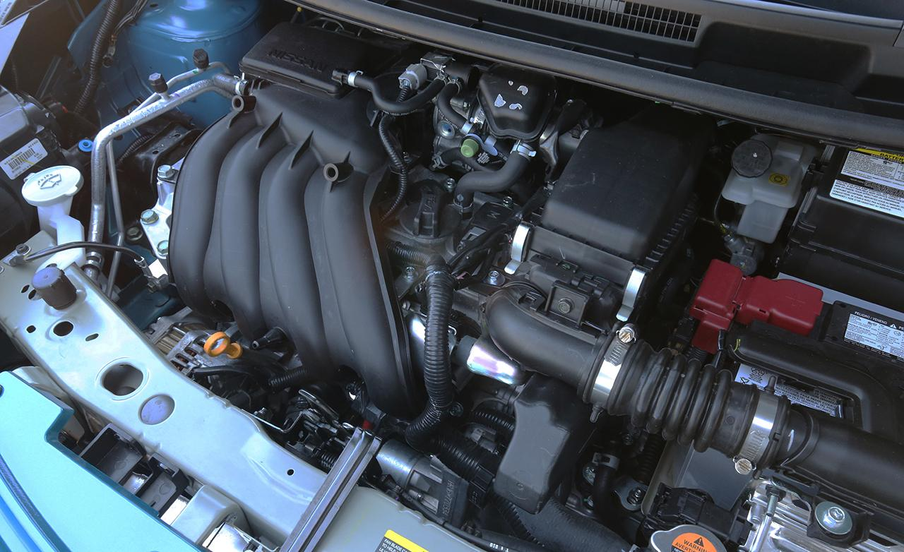 Nissan Versa Note engine #1