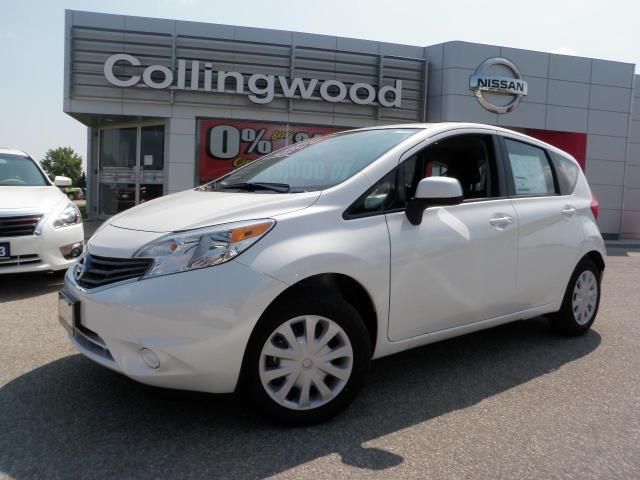 Nissan Versa Note white #4