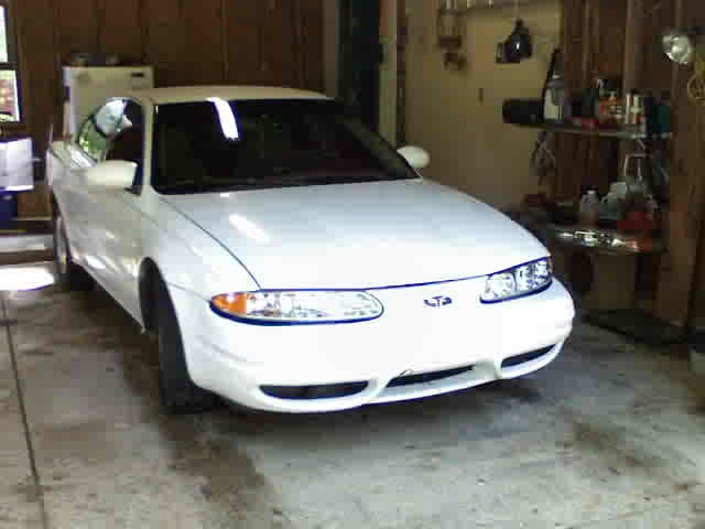 Oldsmobile Alero white #3