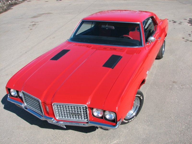 Oldsmobile Cutlass red #4