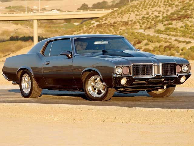 Oldsmobile Cutlass Supreme black #4