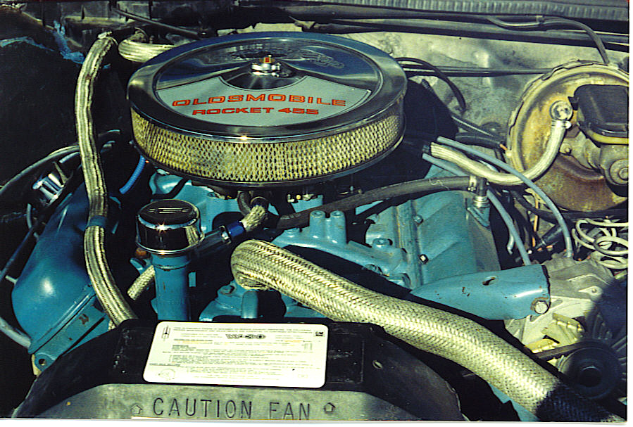 Oldsmobile Cutlass Supreme engine #2
