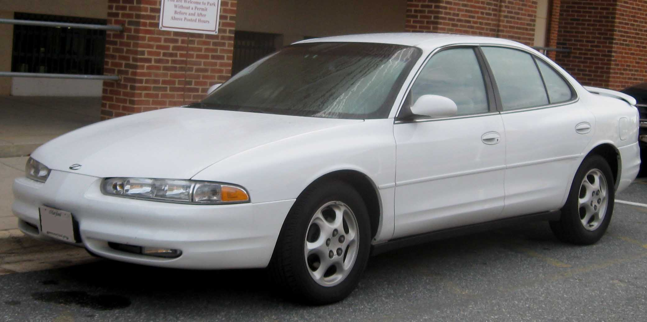Oldsmobile Intrigue white #2