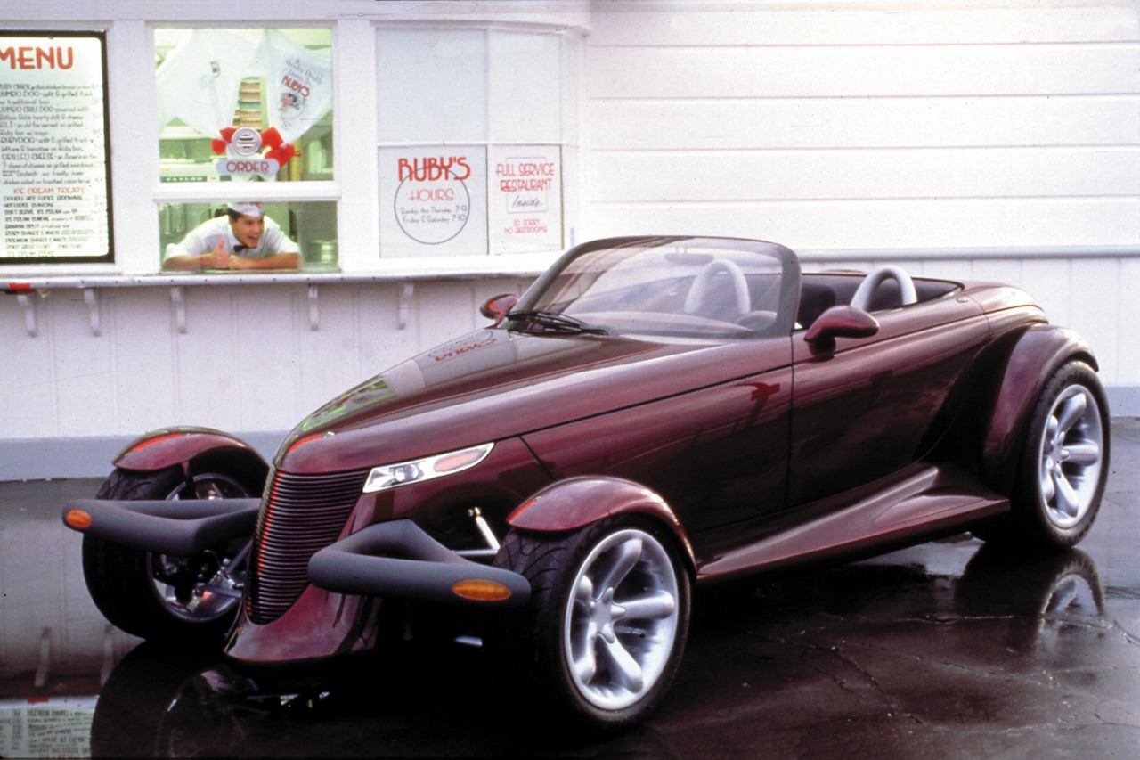 Plymouth Prowler black #1