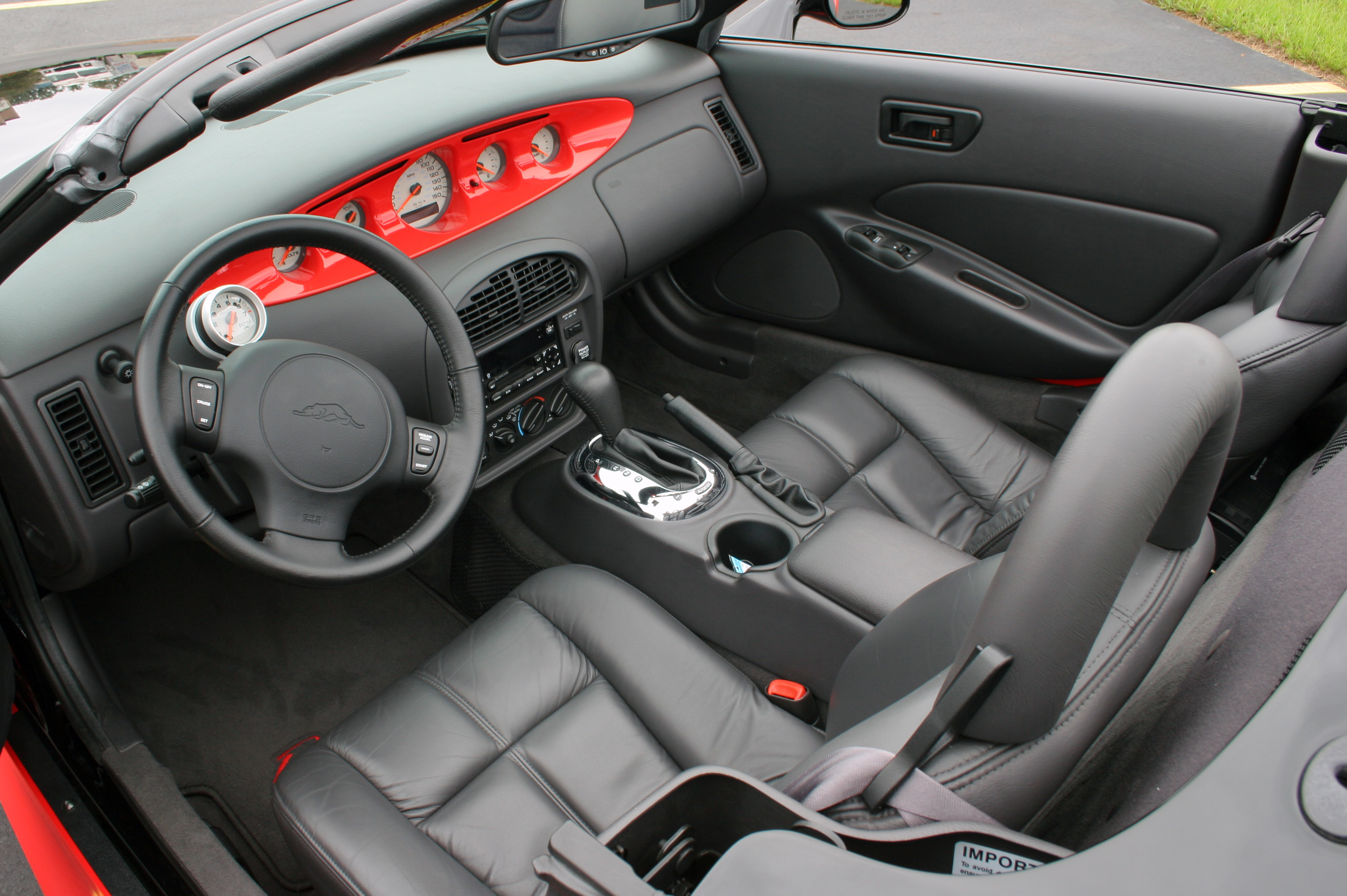 Plymouth Prowler interior #2