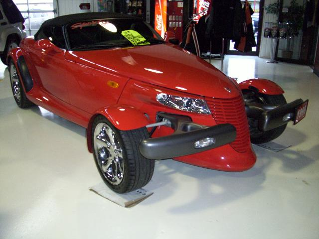 Plymouth Prowler red #2