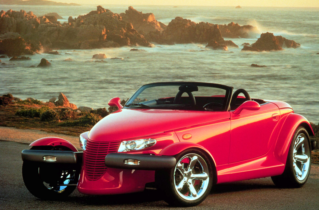 Plymouth Prowler red #4