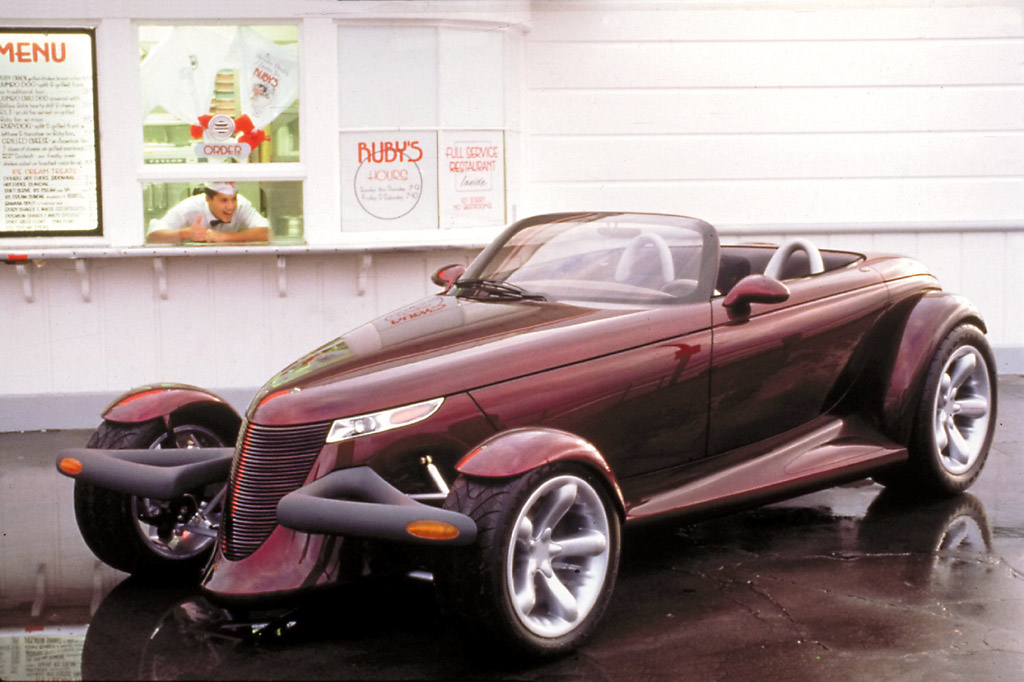 Plymouth Prowler white #2