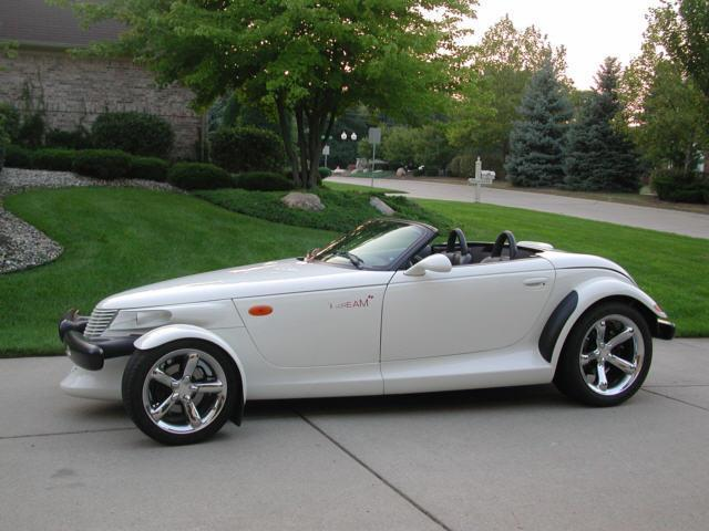 Plymouth Prowler white #3