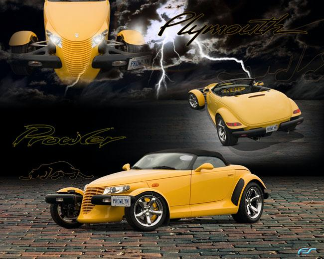 Plymouth Prowler white #1
