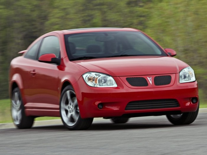 Pontiac G5 red #4