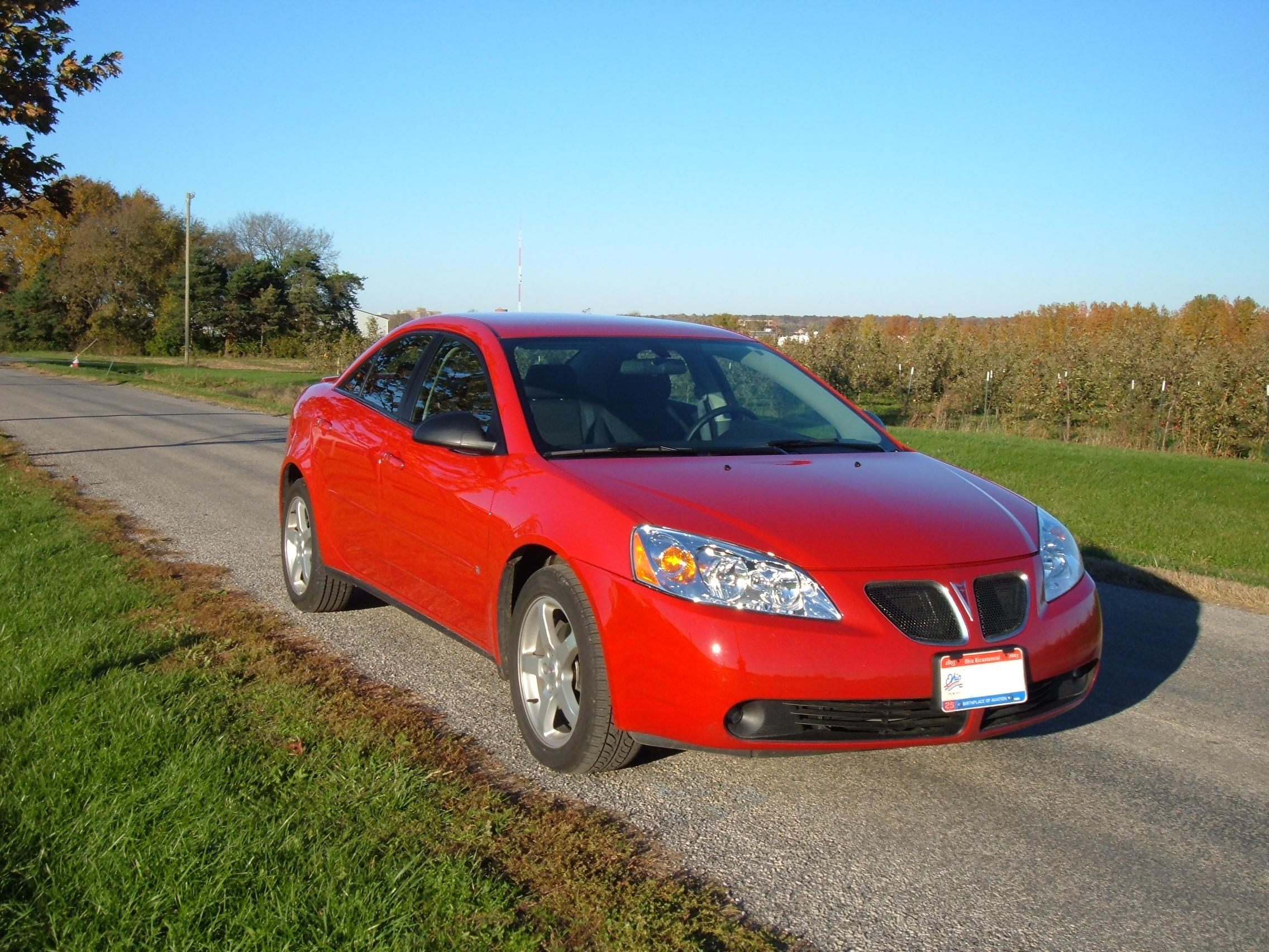 Pontiac G6 red #4