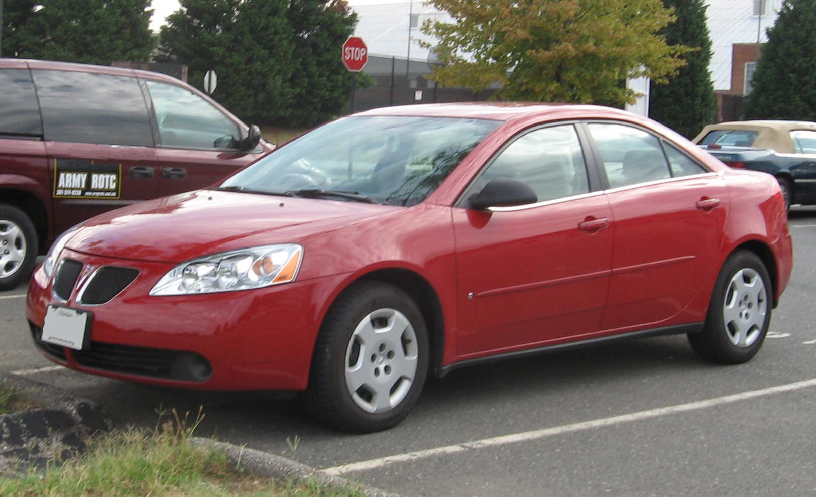 Pontiac G6 red #1