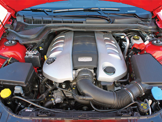 Pontiac G8 engine #1