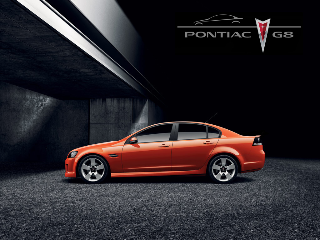 Pontiac G8 red #4