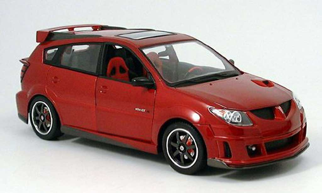 Pontiac Vibe red #1