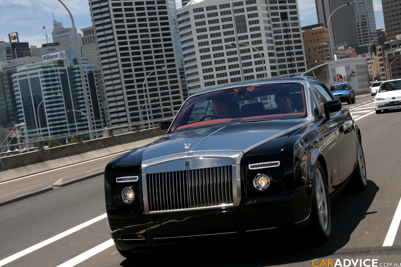 Rolls-Royce Phantom Coupe black #1