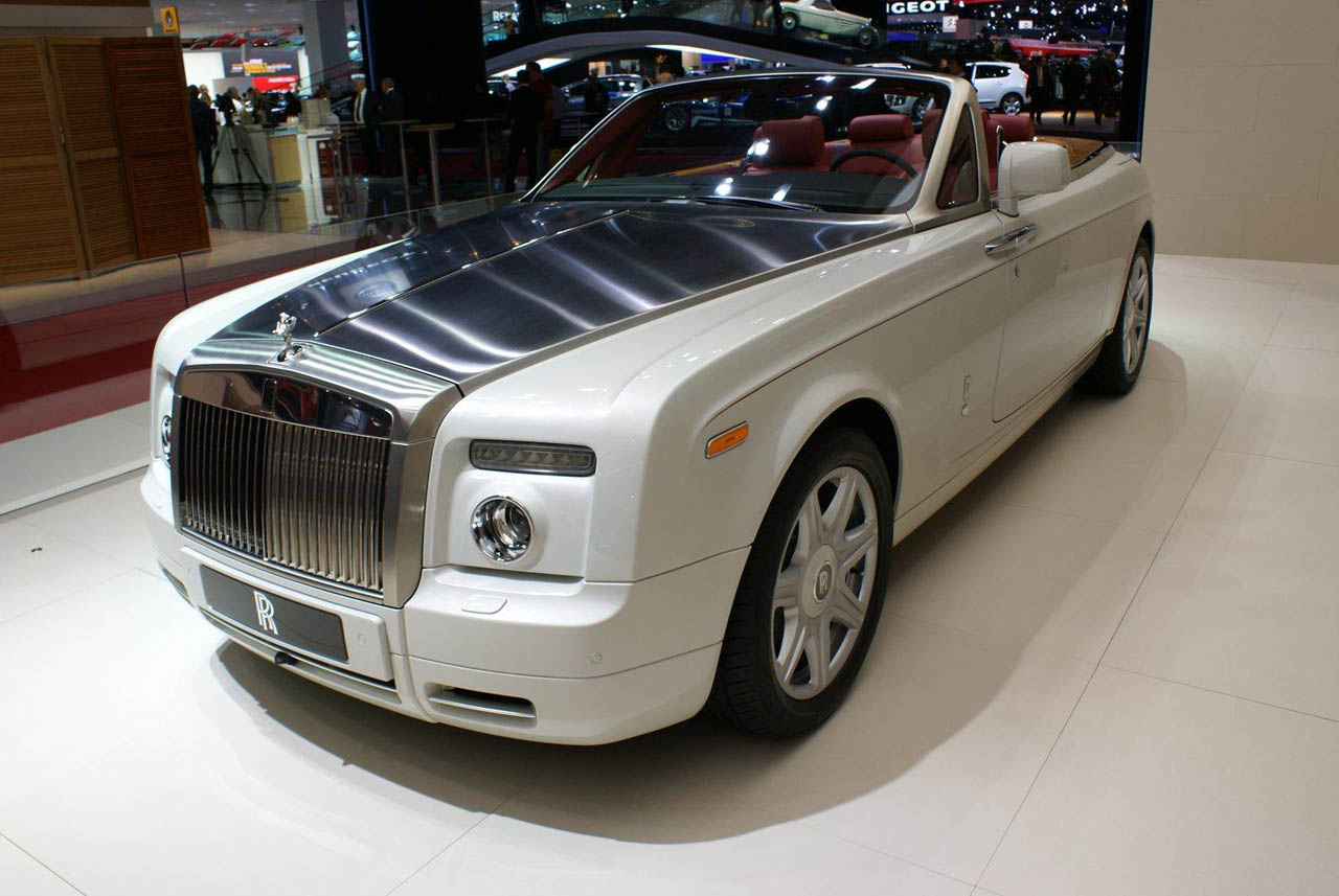 Rolls-Royce Phantom Coupe white #2