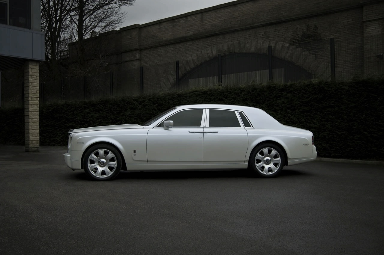 Rolls-Royce Phantom Coupe white #3