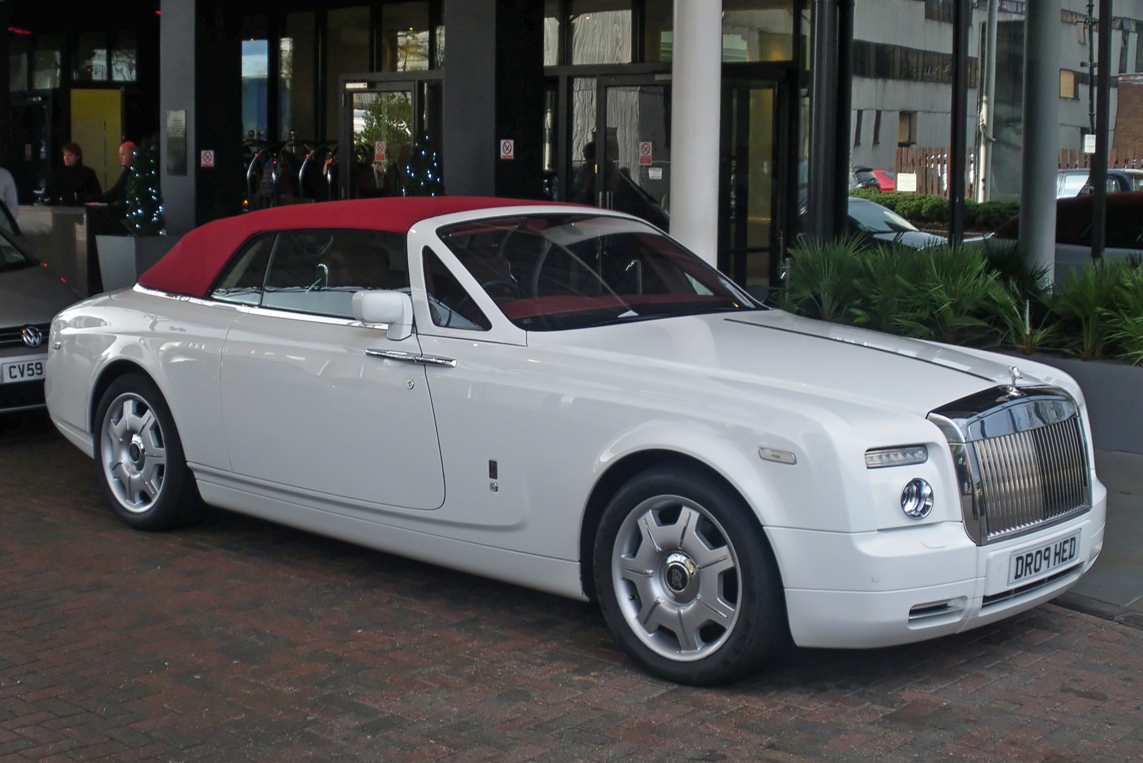 Rolls-Royce Phantom Coupe white #4