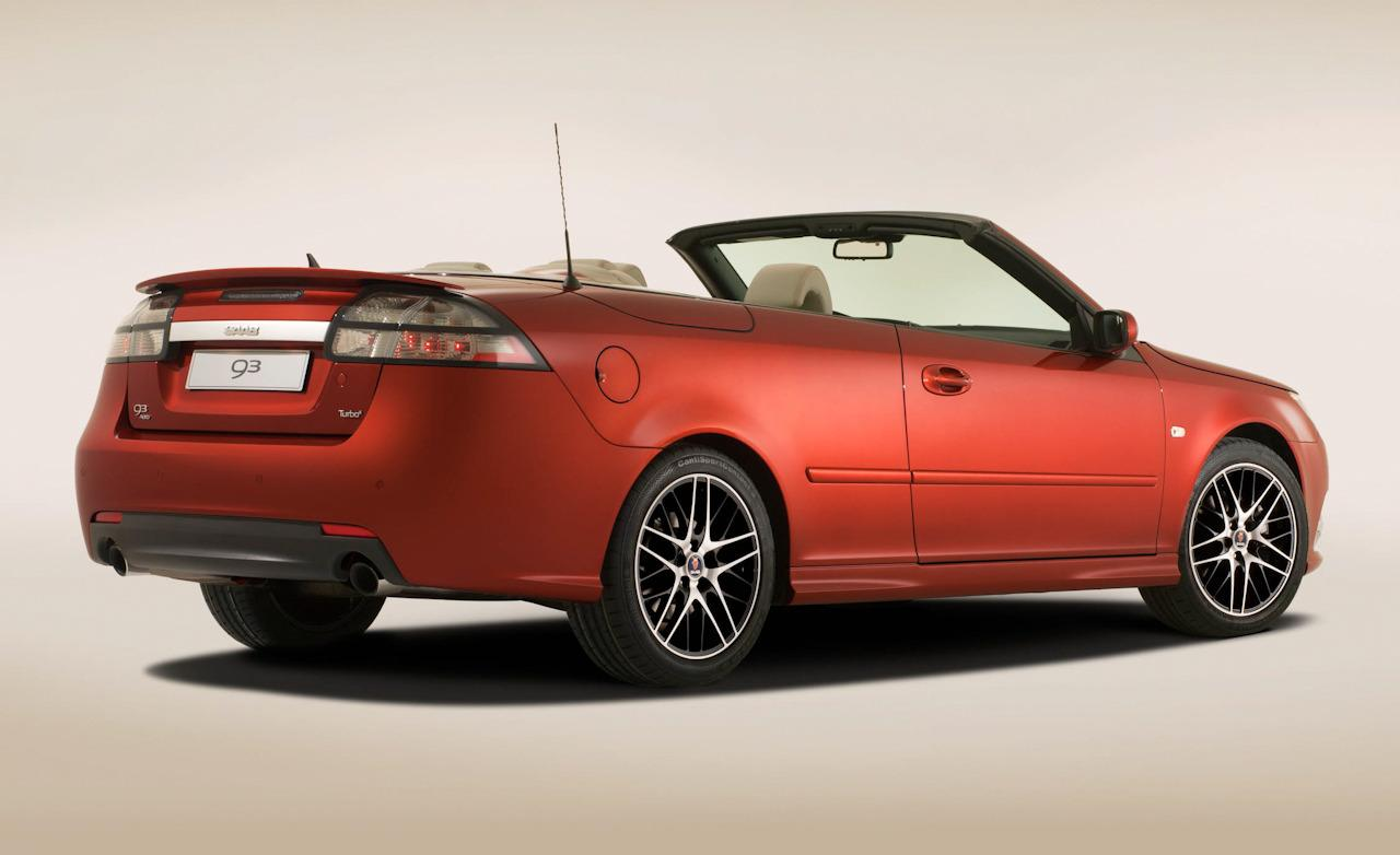 Saab 9-3 Griffin red #4